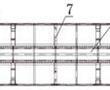 一种铁路货车活动隔墙用轻量化车顶的制作方法