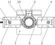 一种滑块结构实现转子压铸模具自动脱料装置的制作方法