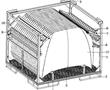 一种柔性汽车机盖料架的制作方法