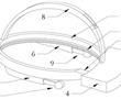 一种新型3D显示研发全息图头戴式终端播放设备的制作方法