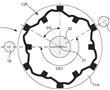 包括设有周期性构型的磁化结构的旋转元件的钟表机芯的制作方法