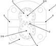 具有螺旋齿的容积式齿轮机的制作方法