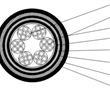 一种高抗压缩型铁路数字信号电缆的制作方法
