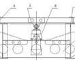 一种挂车货箱翻转的油缸与翻转支点结构的制作方法