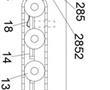 一种带有伸缩臂机构的爬壁机器人的制作方法