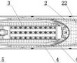 一种具有多层观光游步甲板结构的客船的制作方法