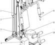 带磁流变可调阻尼的坐姿训练器的制作方法
