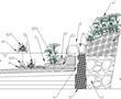 一种生态溪流驳岸的制作方法