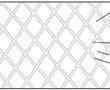 一种菱形网点排气胶带的制作方法