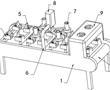 一种输送带式点胶机构的制作方法