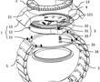 可调节表带松紧的表壳及手表的制作方法