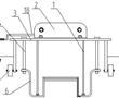 一种水库引水管道沟槽回填厚度限位架的制作方法