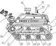 一种燃油动力消防机器人的制作方法
