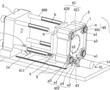 电动开合模的二板式注塑机的制作方法