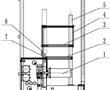 具有膜材预热功能的膜材缓存装置的制作方法