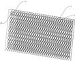 用于金手指阻焊油墨印刷的菲林挡油网板的制作方法