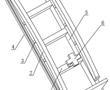 一种消防车的拉梯固定架的制作方法