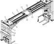 一种快开式侧帘箱的上料支架的制作方法