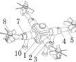 一种四旋翼无人植保机的制作方法