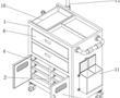 一种妇科微创手术用床旁医疗柜的制作方法