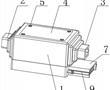 一种光纤用连接器散热片的制作方法