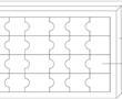 一种便于固定的拼图的制作方法