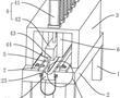 一种弦槌毛毡的预压装置的制作方法