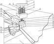 多层布橡胶带侧端补强密封条胶接压紧机构的制作方法