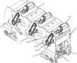 成排矫直机用车式替换辊道的制作方法