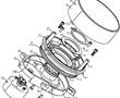 齿轮传动雷达和扫地机器人的制作方法