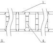 一种沿长向变炉墙厚度的燃烧室结构的制作方法