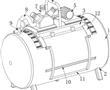 一种折叠式空气压缩机的制作方法