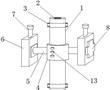 一种圆织机用综丝杆下导向装置的制作方法