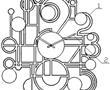 一种防潮艺术挂钟的制作方法
