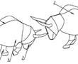 一种侗族斗牛多功能摆件的制作方法