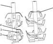 一种混刀分段式双螺旋粉垄刀具的制作方法